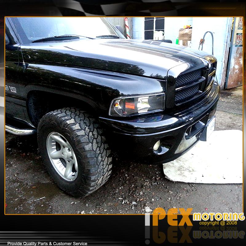 Black 1994 2001 dodge ram 1500 2500 3500 headlights w corner does not apply sciox Gallery
