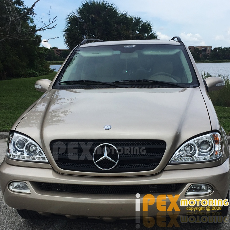2002-2005 Mercedes Benz W163 ML ML350 ML500 Projector LED