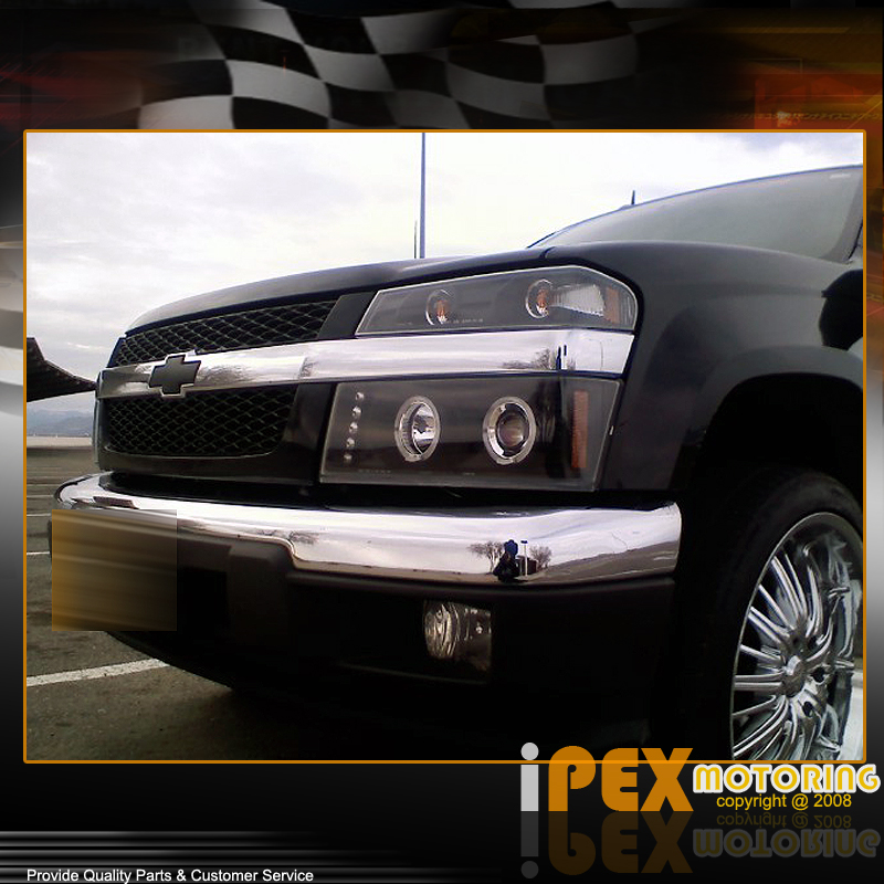 04-12 GMC Canyon/Chevy Colorado Halo+LED Projector Black