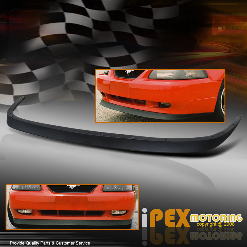 99 04 Ford Mustang GT SVT Cobra Front Bumper Lip Spoiler Kit Poly