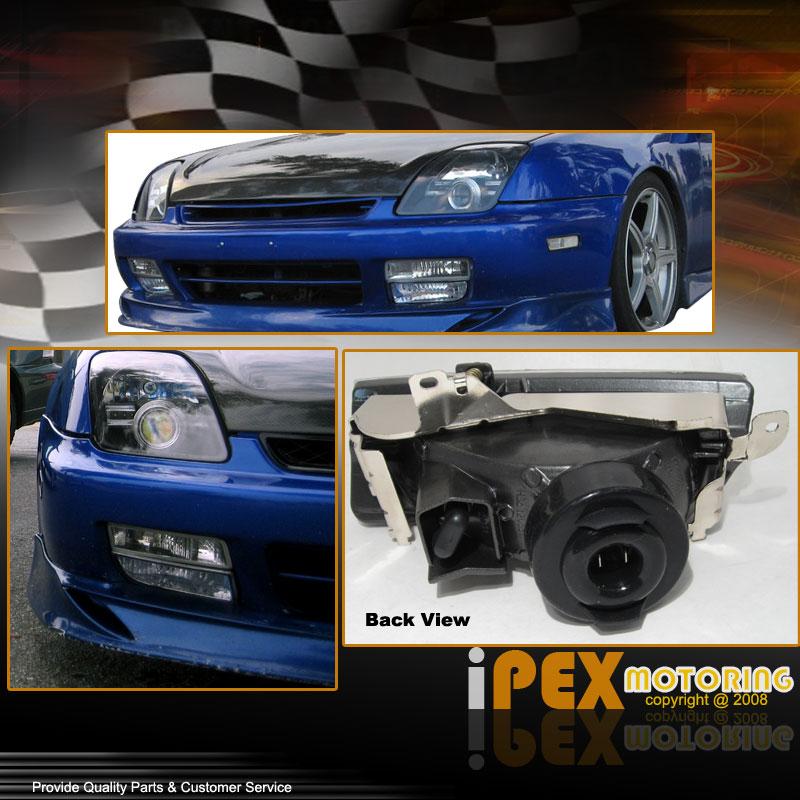 (FULL KIT) Honda Prelude 1997-2001 JDM Clear Fog Lights