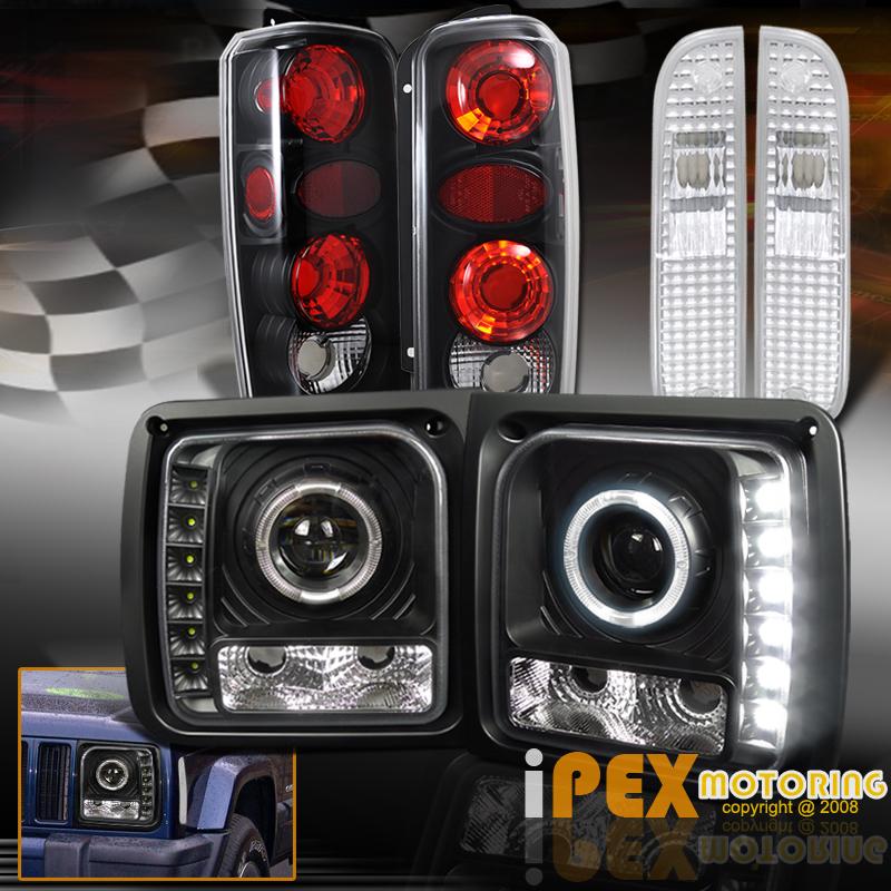 jeep xj halo headlights wiring jeep xj engine compartment diagram