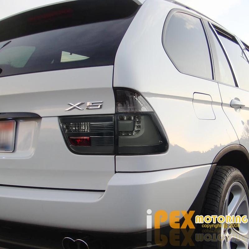 2000-2003 BMW X5 E53 Halo Projector LED Black Headlights
