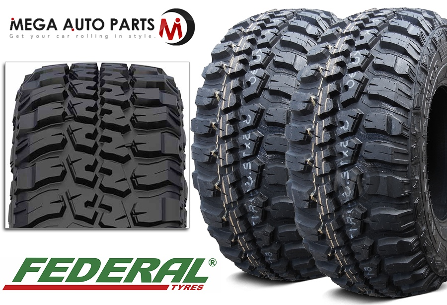 Federal Couragia M T 2 33x12 50r15 108q 6ply Mt Off Road Neumaticos