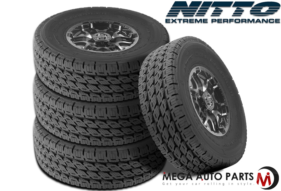 Nitto Dura Grappler >> Details About 4 Nitto Dura Grappler 275 55r20 117h Xl Truck All Season Durable Highway Tires
