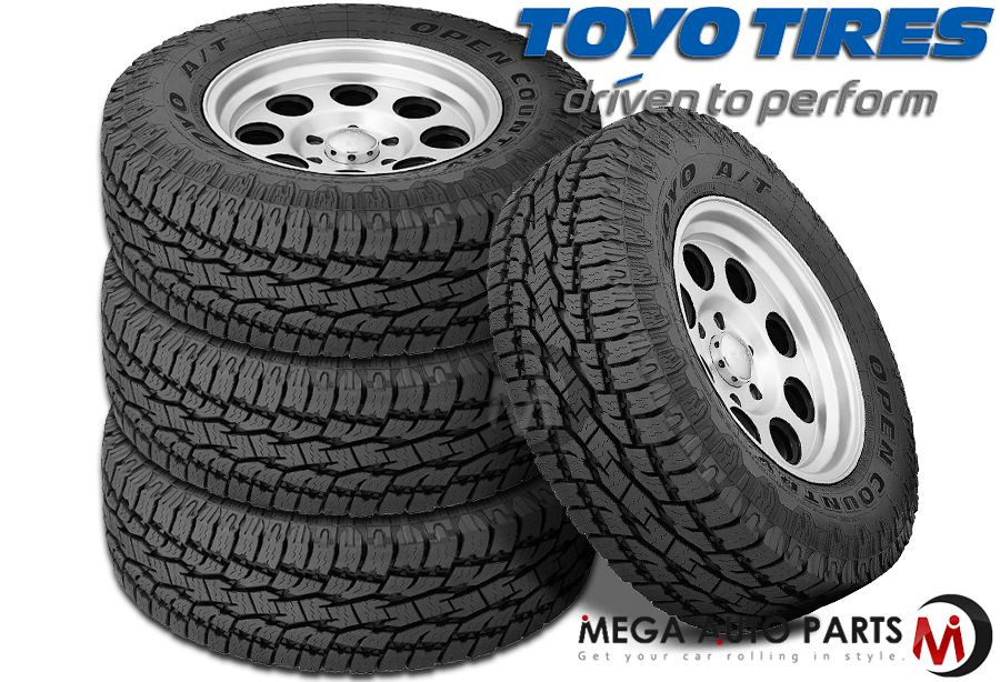 Open Country Tires >> Details About 4 Toyo Open Country A T Ii Lt235 85r16 10p 120r All Terrain Tire 50k Mi Warranty