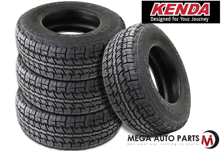 4 New Kenda Klever A//T LT265//75R16 123//120Q E 10 Ply AT All Terrain Tires