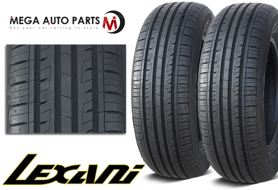 2 x new lexani lxtr 203 225 60r16 98h all season high performance tires ebay. Black Bedroom Furniture Sets. Home Design Ideas