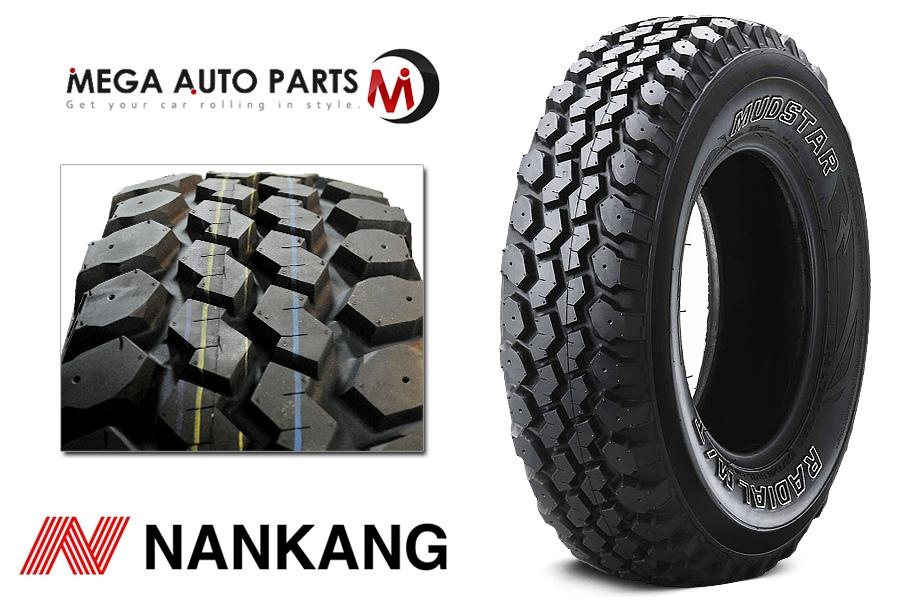 1 X New Nankang N889 Mudstar M T Lt245 75r16 120 116n E 10