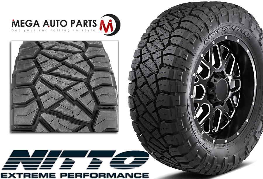 Nitto Ridge Grappler Sizes >> Details About 1 Nitto Ridge Grappler Lt285 65r18 10pr 125 122q All Terrain Lt Truck Mud Tires
