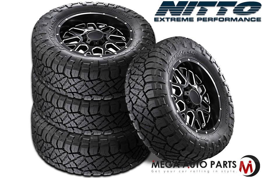 Nitto Ridge Grappler Sizes >> Details About 4 Nitto Ridge Grappler Lt285 75r17 10pr 121 118q All Terrain Lt Truck Mud Tires