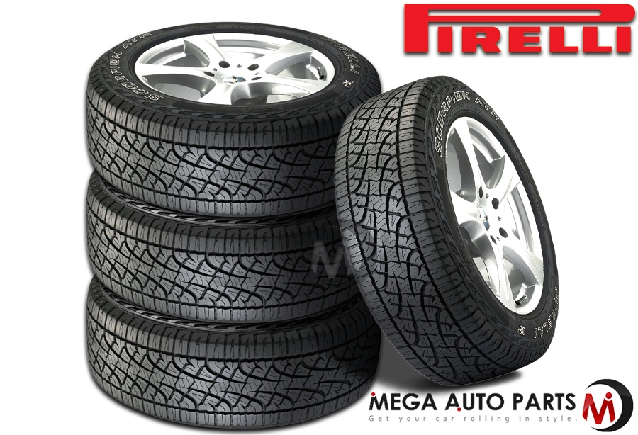 Best Off Road Truck Tires >> Details About 4 Pirelli Scorpion Atr P265 60r18 110h Rwl All Terrain On Off Road Truck Tires