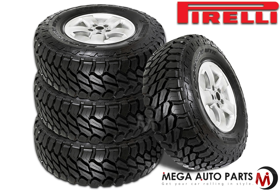 Best Off Road Tires >> Details About 4 Pirelli Scorpion Mtr Lt285 75r16 116q Mud Terrain 4x4 4wd Truck Off Road Tires