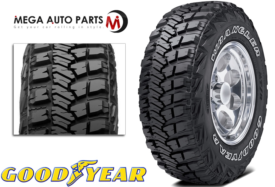 Best Off Road Tires >> Details About 1 Goodyear Wrangler Mt R With Kevlar Lt265 70r17 121q Mud Terrain Off Road Tires