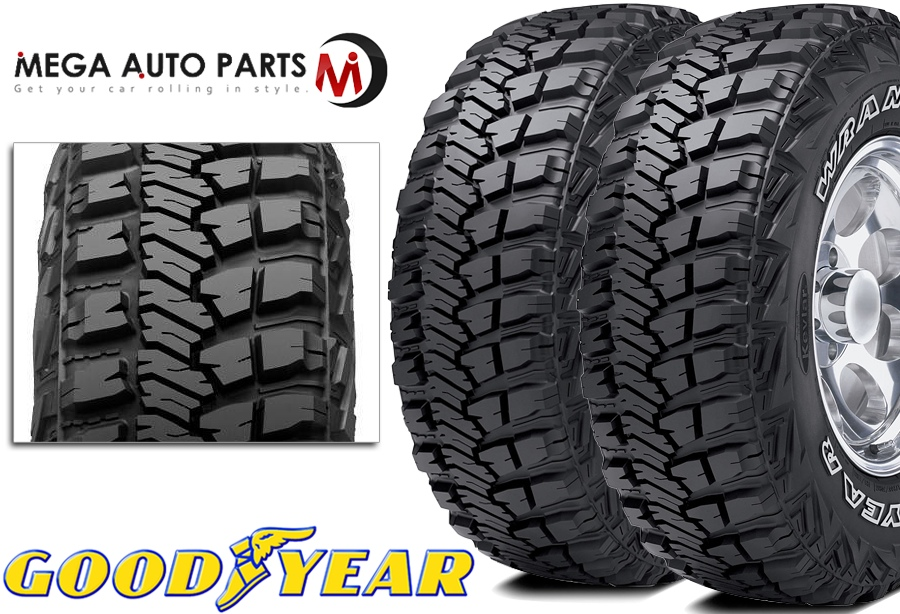 Best Off Road Tires >> Details About 2 Goodyear Wrangler Mt R With Kevlar Lt275 65r20 126q Mud Terrain Off Road Tires