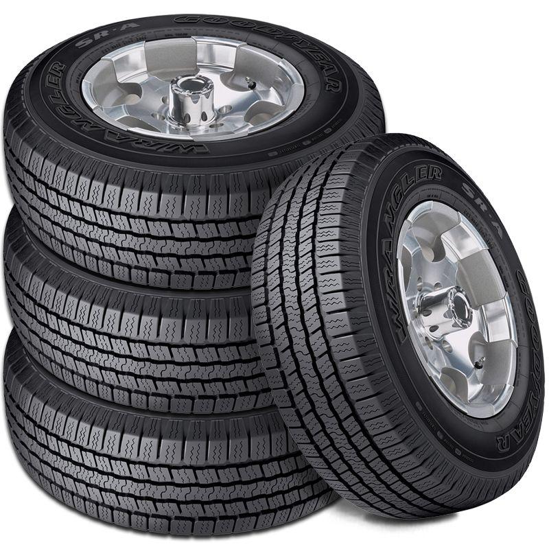 goodyear wrangler sr  pr  highway  season suv cuv truck tire  ebay