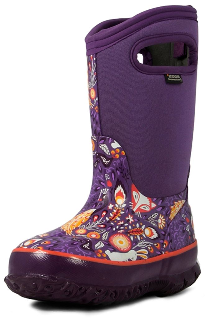 Bogs Boots Girls Kids Classic Forest Insulated Waterproof