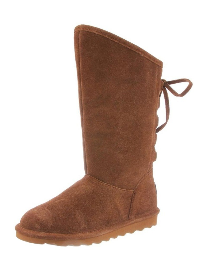 Bearpaw Stiefel Damenschuhe Slim Phylly Angled Top Tall Laces Slim Damenschuhe Outsole 1955W ec034c