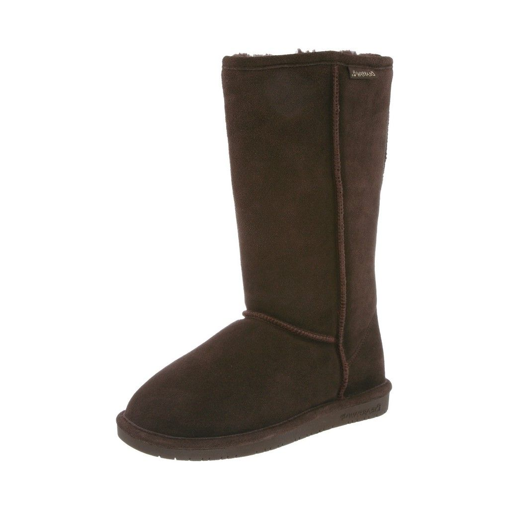 Bearpaw Boots Womens Suede Emma Pull On Comfortable Cow Suede Womens Wool 612W af032c