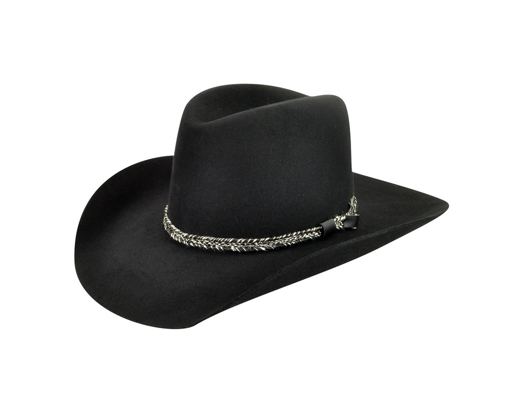 Bailey Cowboy Hat Mens Truckton Two-Tone Band Metal Spur ...
