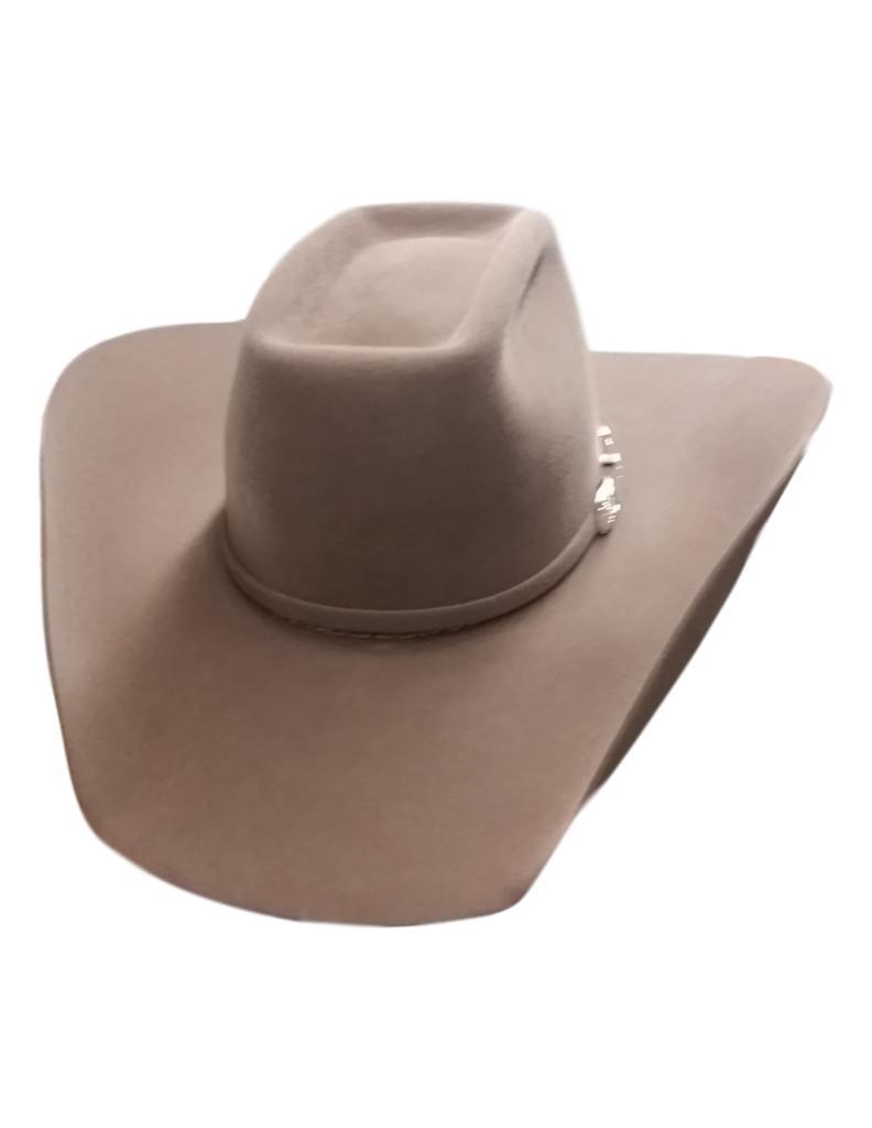 Details About American Cowboy Hat Mens Felt Lucky 7x Brick Crown 6 Un