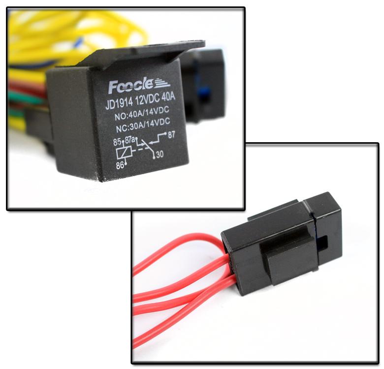 Fog Light Lamp 9006 Wiring Harness Kit For 2006