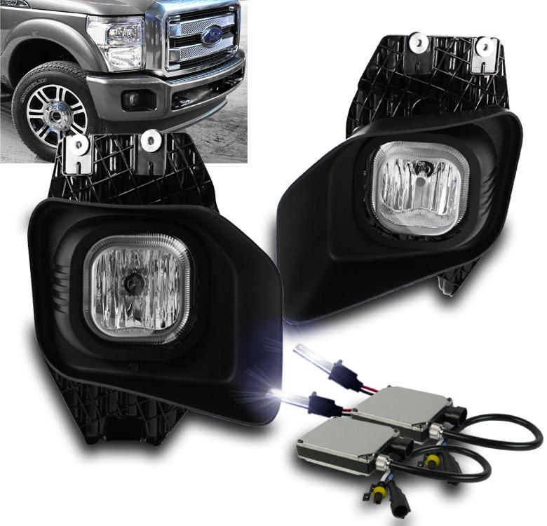 2011-2016 Ford Super Duty F250//350//450//550 XLT Fog Light Kit