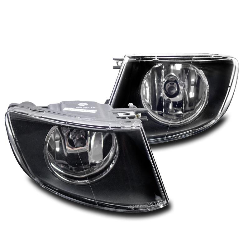 2007-2011 BMW E92 E93 3 SERIES 2DR FRONT BUMPER BLACK FOG