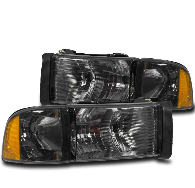 dodge ram 2001 1500 1999 sport headlight signal turn truck smoke corner headlights lights lamp
