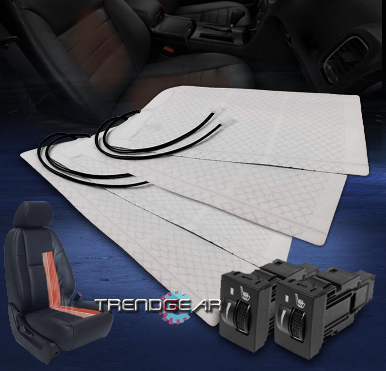 2x Heated Seat Heater Pad Switch Kit Toyota Avalon Corolla