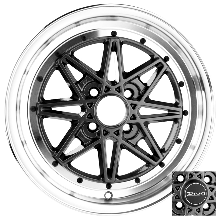 15 4x100 Drag Dr20 4 Lug Gm Wheel Rim Work Scion Xa Xb