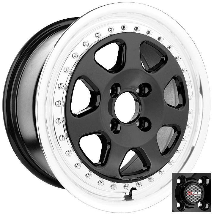 15 4x100 Dr27 4 Lug Wheel Rims Acura Integra Crx Daewoo