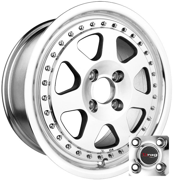 15 X7 4x100 Dr27 Wheel Rim Honda Civic Prelude Del Sol