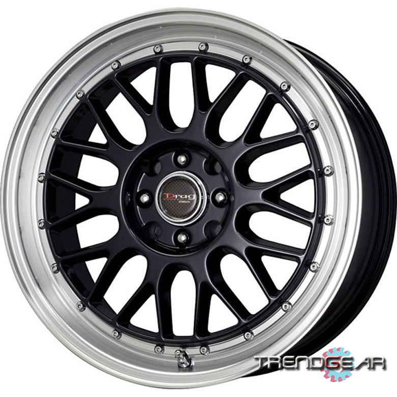 17 DRAG DR44 5-LUG WHEELS RIMS VW GOLF JETTA PASSAT VR6
