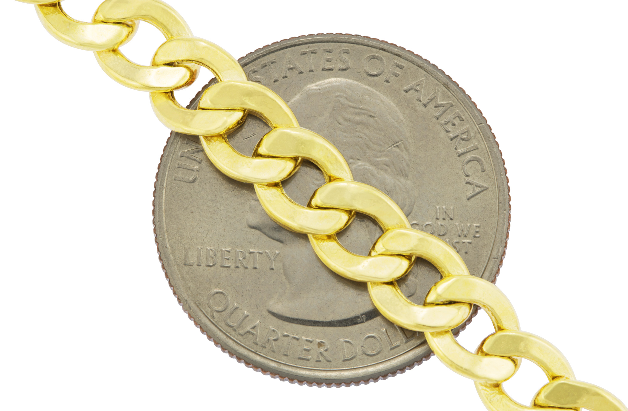Real-10K-Yellow-Gold-7-5mm-Cuban-Link-Curb-Chain-Bracelet-Lobster-Clasp-7-034-8-034-9-034 thumbnail 16