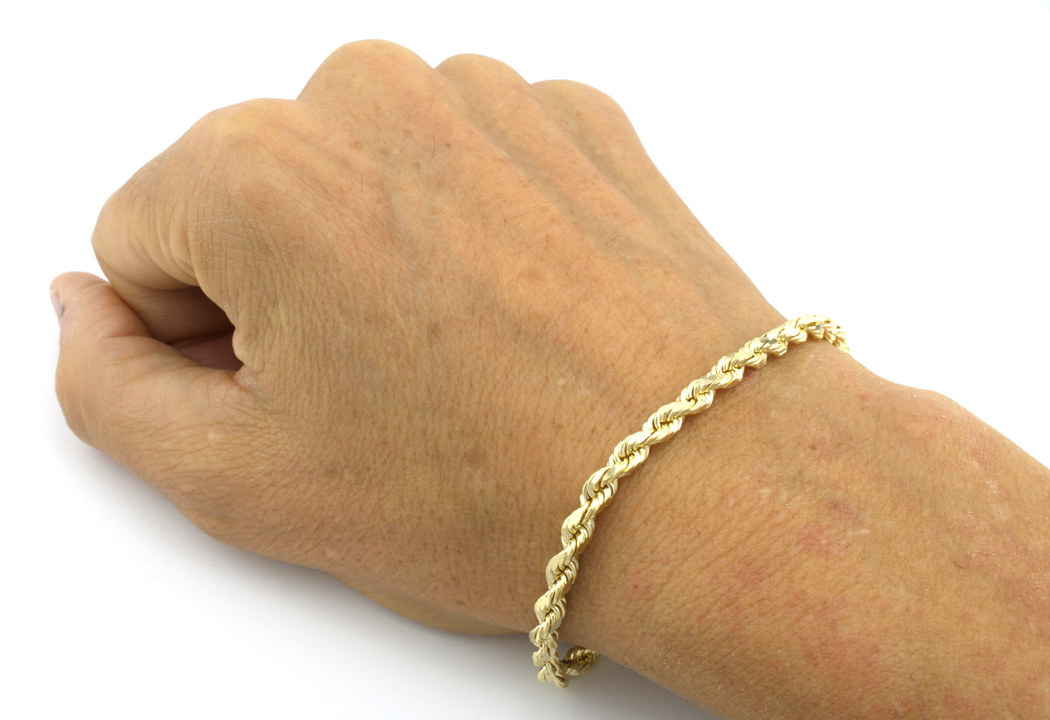 womens rose chain link hammered cuban filled itm gold curb mens gf bracelet