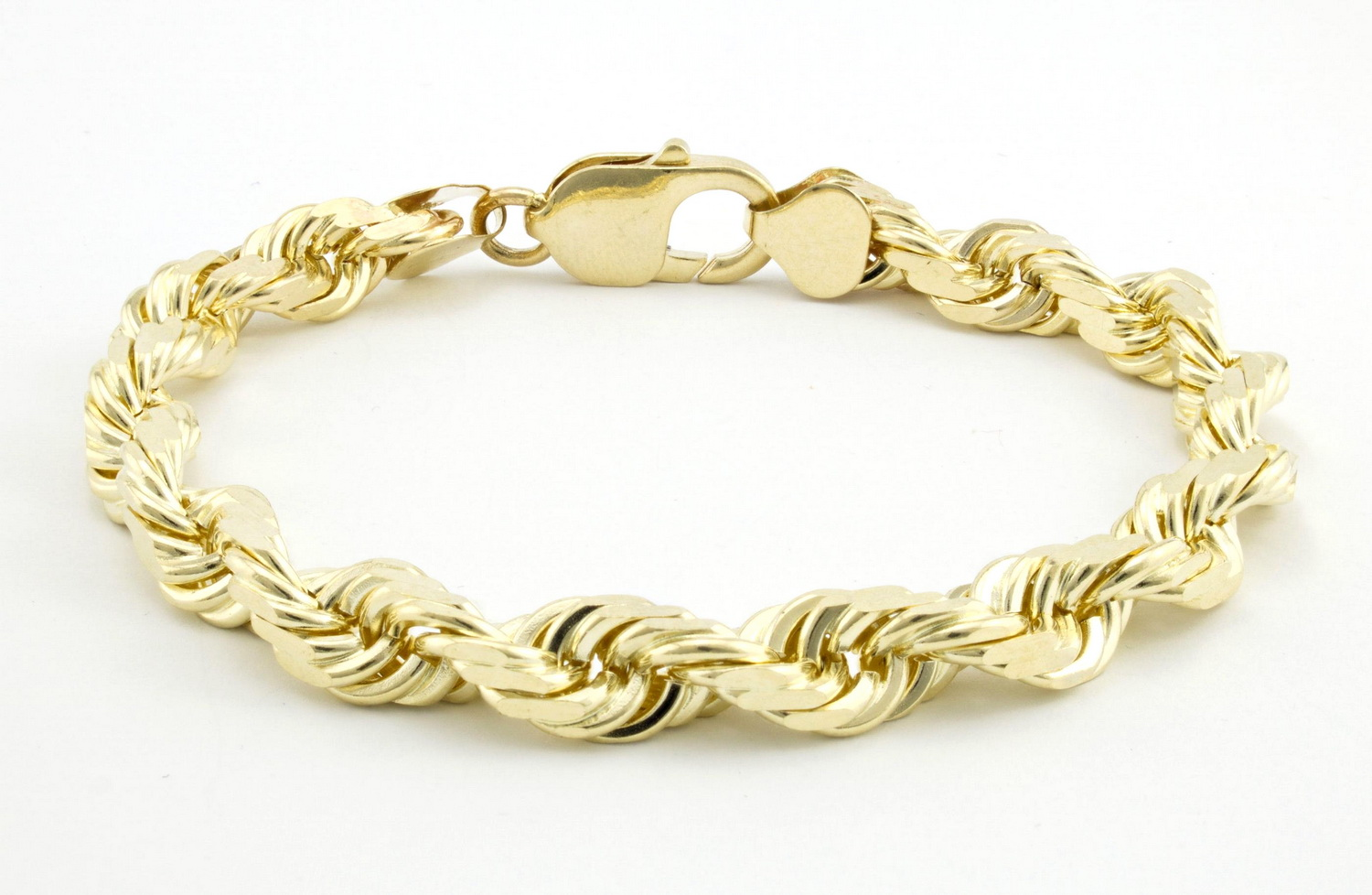 yellow solid bangle cuban gold womens curb itm bangles link mens chain bracelet b
