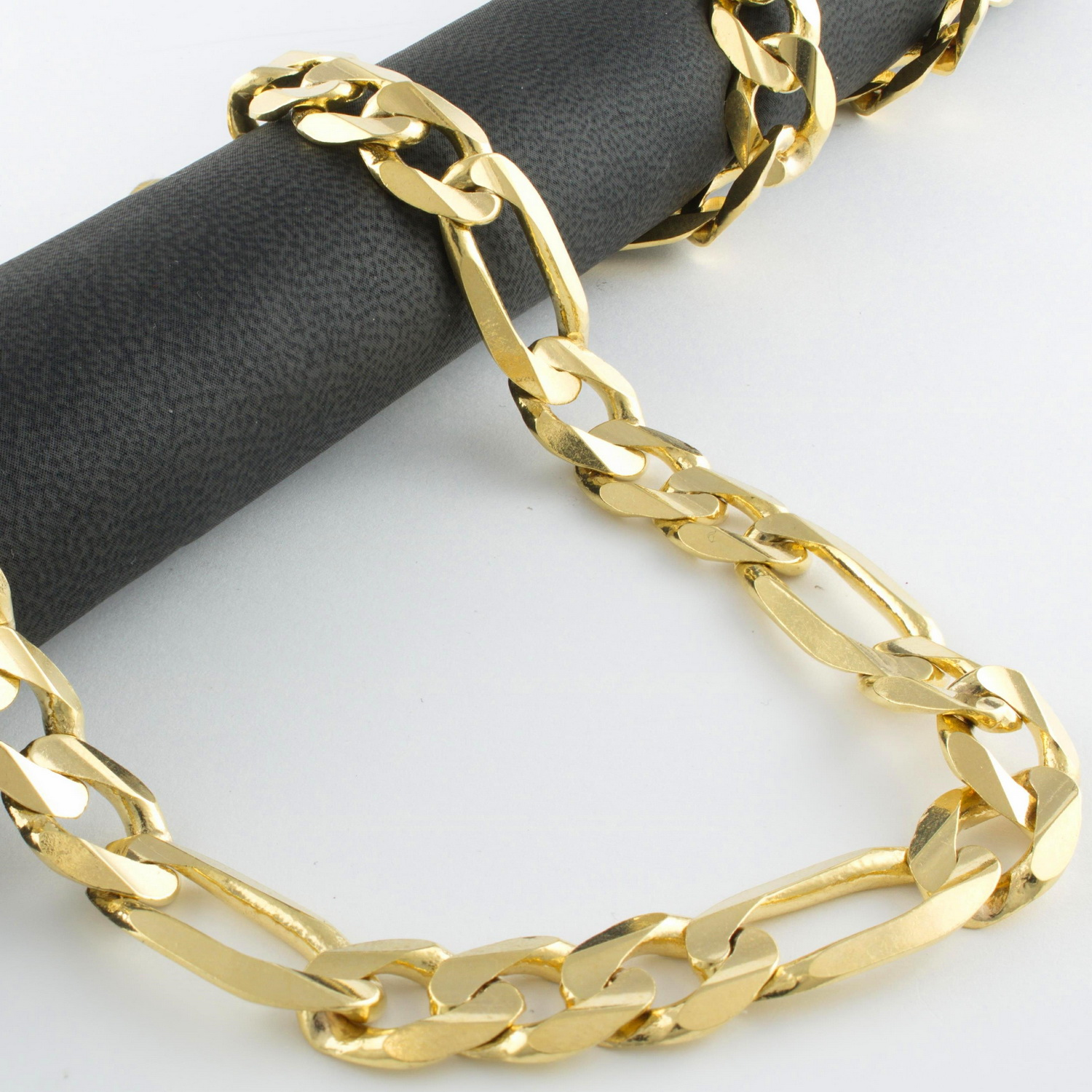 miami gold collections men thick bracelet large solid cuban s bracelets for uverly