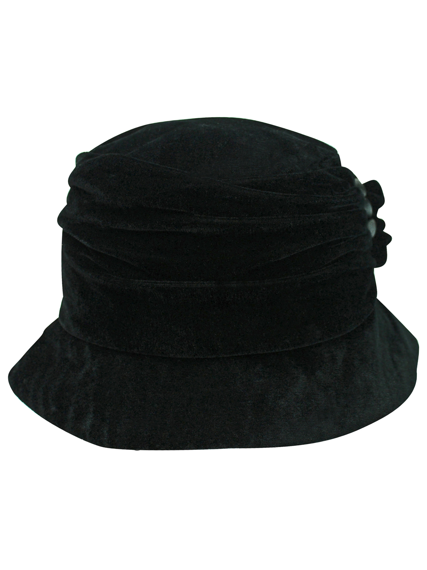 004620c2168a2 VELVET-BUCKET-HAT-WITH-BUTTON-TRIM thumbnail 5