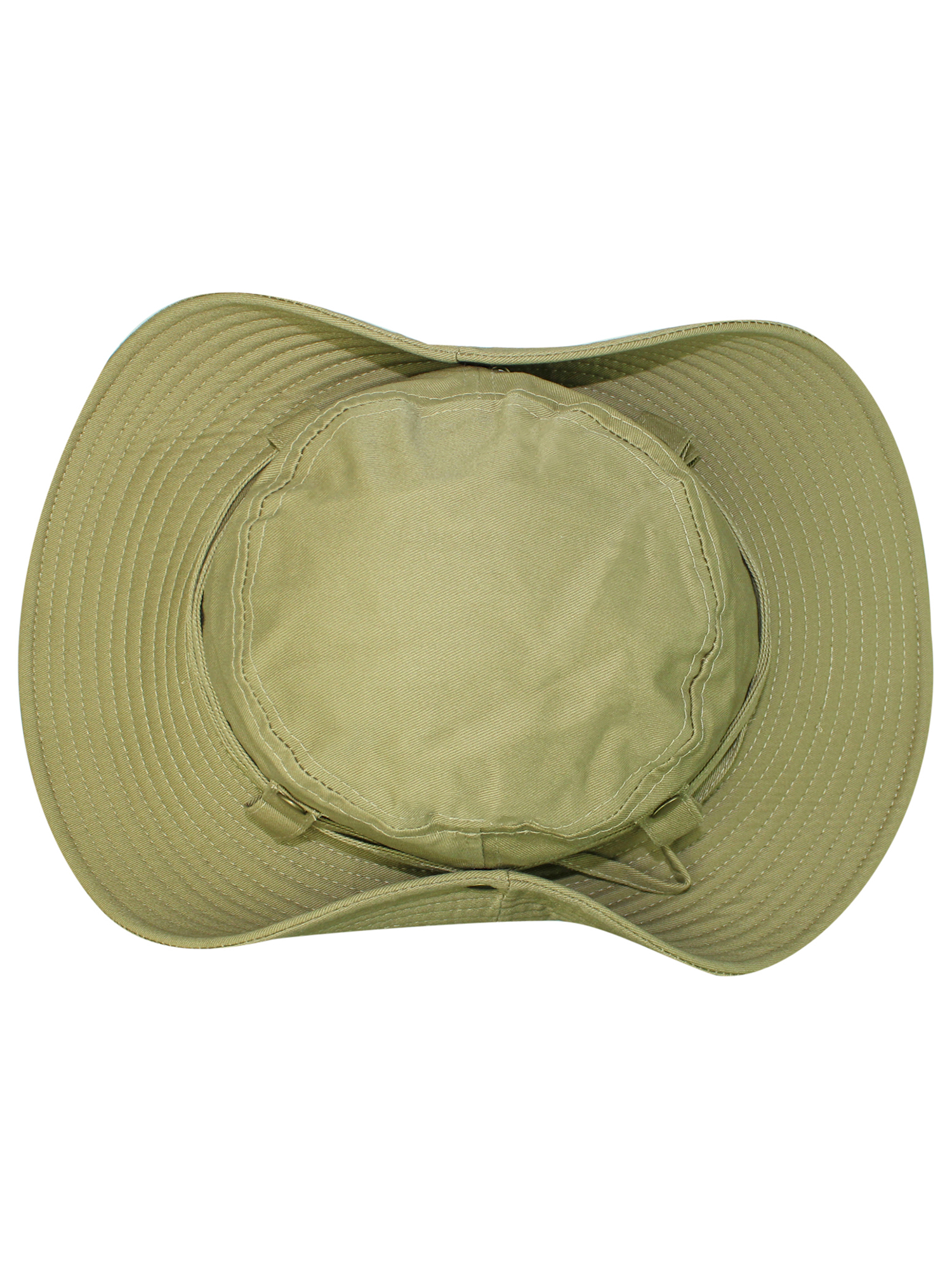 fef54254e Details about SAFARI STYLE COTTON HAT WITH CHIN CORD & SIDE SNAPS