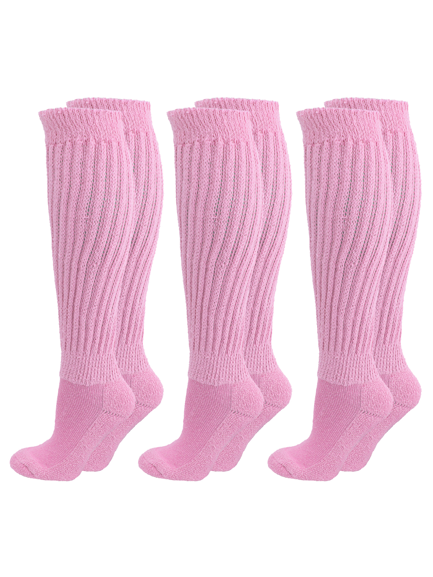 2019 real amazing selection authorized site Details about ALL COTTON 3 PACK EXTRA HEAVY SLOUCH SOCKS