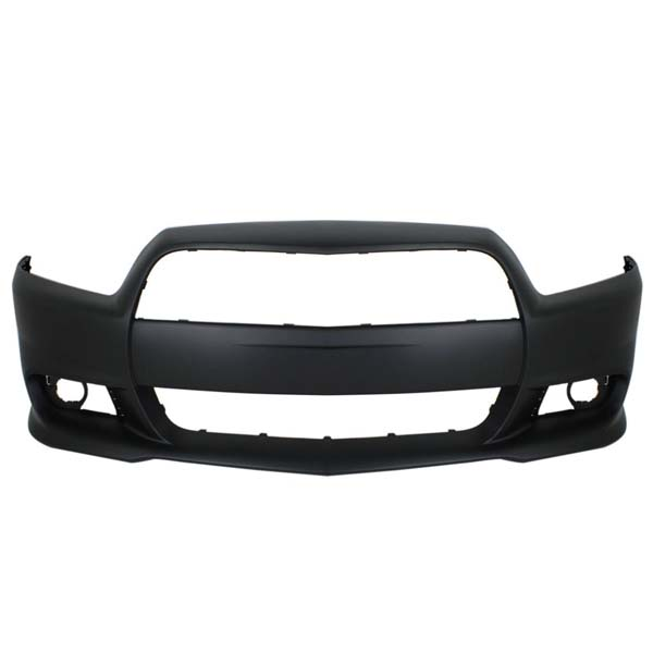 Front Bumper Cover For 2011-2014 Dodge Charger w// fog lamp holes Primed CAPA