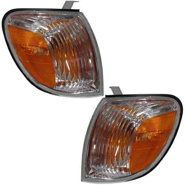 Pair Turn Signal Lights Lamps Set of 2 New Right-and-Left 815200C040 815100C040