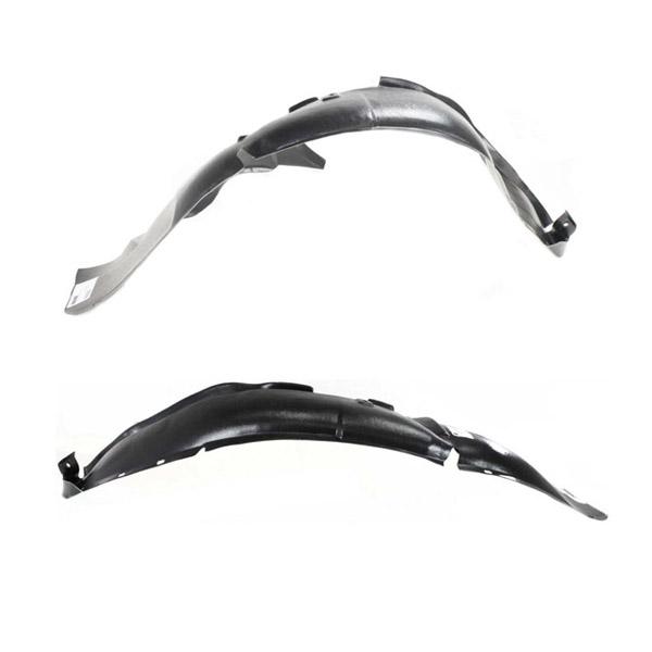 Black Passenger Side Mud Flap Plastic For CR-V 07-11 Rear