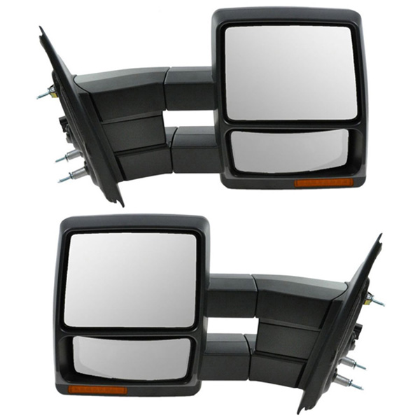 F150 Power Heat Signal Puddle Lamp Folding Tow Mirror Left