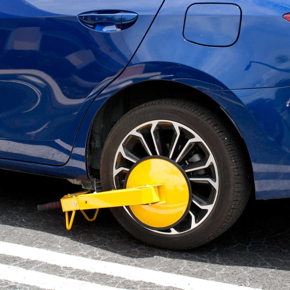 Car Theft Escape Parking: Anti Theft Car Tire Parking ATV RV Boot Wheel Clamp Boat