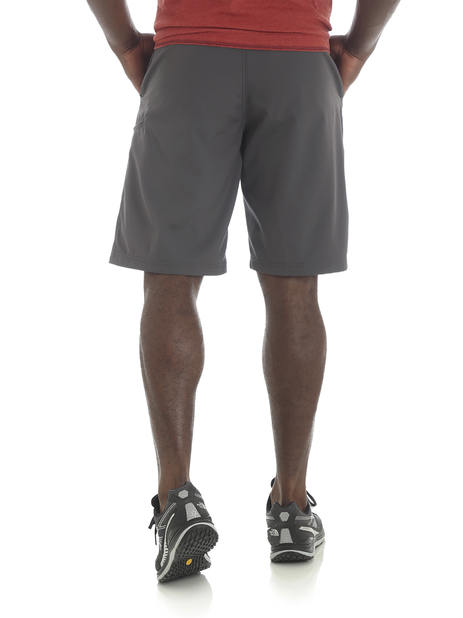 Wrangler-NEW-Solid-Men-039-s-Outdoor-Performance-Flex-Side-Elastic-Utility-Shorts thumbnail 9