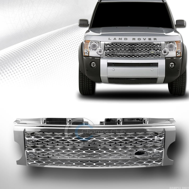 CHROME SPORT MESH FRONT BUMPER GRILL GRILLE 2005-2009 LAND