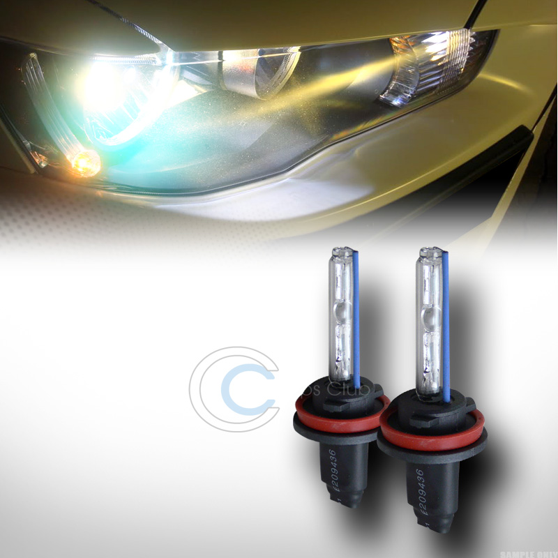 8000k Hid Xenon H11 Low Beam Head Lights Bulbs Pair