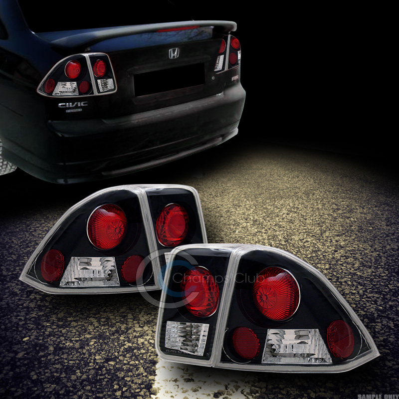 Image Is Loading JDM BLK CLEAR SPORT ALTEZZA TAIL LIGHTS LAMPS